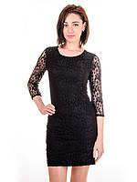 Женское гипюровое платье  PG2