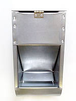Бункерная кормушка для кроликов и др. грызунов на 2,5 литра с крышкой