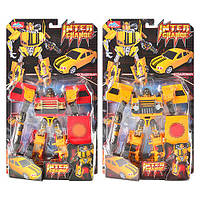 Трансформер 10783, машина-робот с оружием, пластик, 2 цвета, для детей от 3 лет, упаковка 50х28,5х10 см