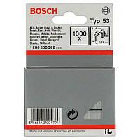 Скрепки Bosch 1000шт 18мм ТИП 53, 1609200369