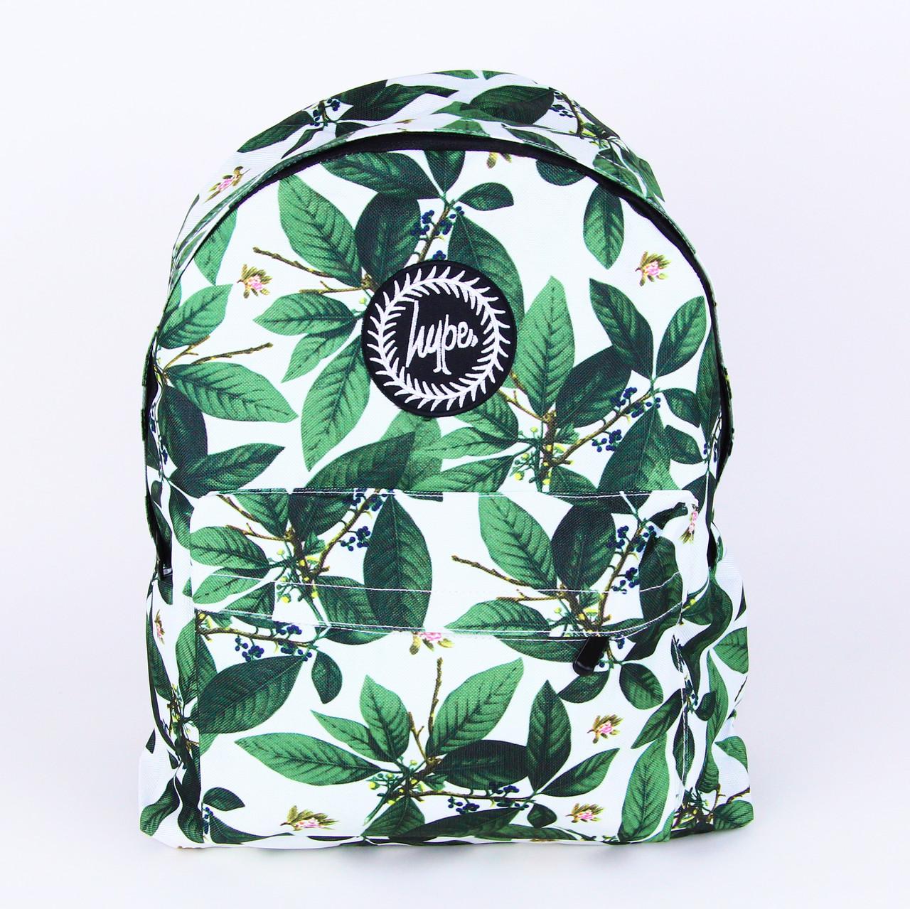 Романтичний білий рюкзак міський Сад з листям