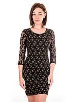 Женское гипюровое платье PG5