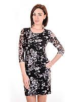 Женское гипюровое платье PG7