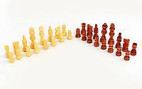 Фигуры шахматные деревянные запасные, пешка 3,5см, король 8 см, фото 1