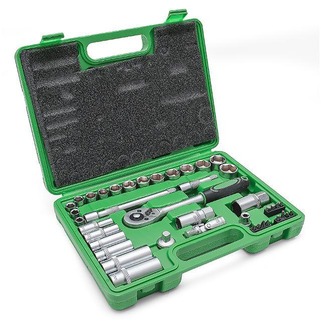 Набор инструментов Intertool (Интертул) ET-6039 39 предметов