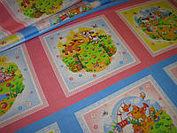 Ткань ситцевая для детских нос платков Тейково наб.р. 18751/1 ш.95см