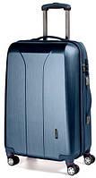 4-колесный пластиковый чемодан-гигант 110 л. MARCH New Carat 0081/34, синий