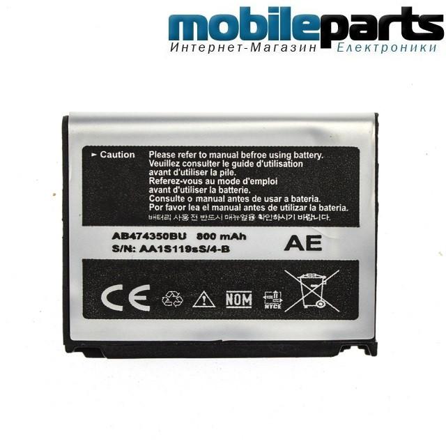 АКБ батарея  А КЛАСС SAMSUNG F480 / AB553446CU,Samsung F480, Samsung F488  1000mAh