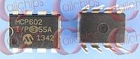 2-х канальный ОУ Microchip MCP602-I/P DIP8