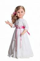 Кукла Paola Reina Альма в белом платье, шарнирная 60 см (06520)