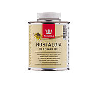 Масло интерьерное TIKKURILA NOSTALGIA BEESWAX OIL для деревянных изделий, 0,375л