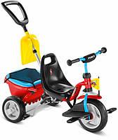 Велосипед трехколесный Puky CAT 1 SP красный/голубой OR