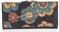 Стильный оригинальный женский кожаный кошелек высокого качества F.Salfeite art. 2029SLF-D61 черный, фото 1