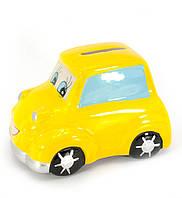 Копилка Машинка желтая 29818B