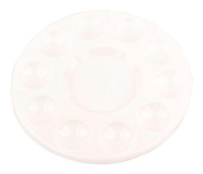 Палитра пластиковая круглая d:17.8см. D.K.ART & CRAFT
