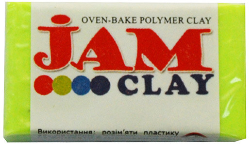 Пластика Jam Clay Лимонная капля 20г