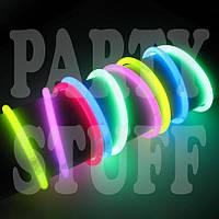 Светящиеся браслеты супер 100 шт