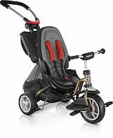 Велосипед трехколесный Puky CAT S6 Ceety золотой Германия + родительская ручка + корзины + подставка для ног