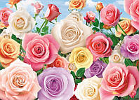 "Бумажные фотообои ""Сад роз"" 196х140 см"