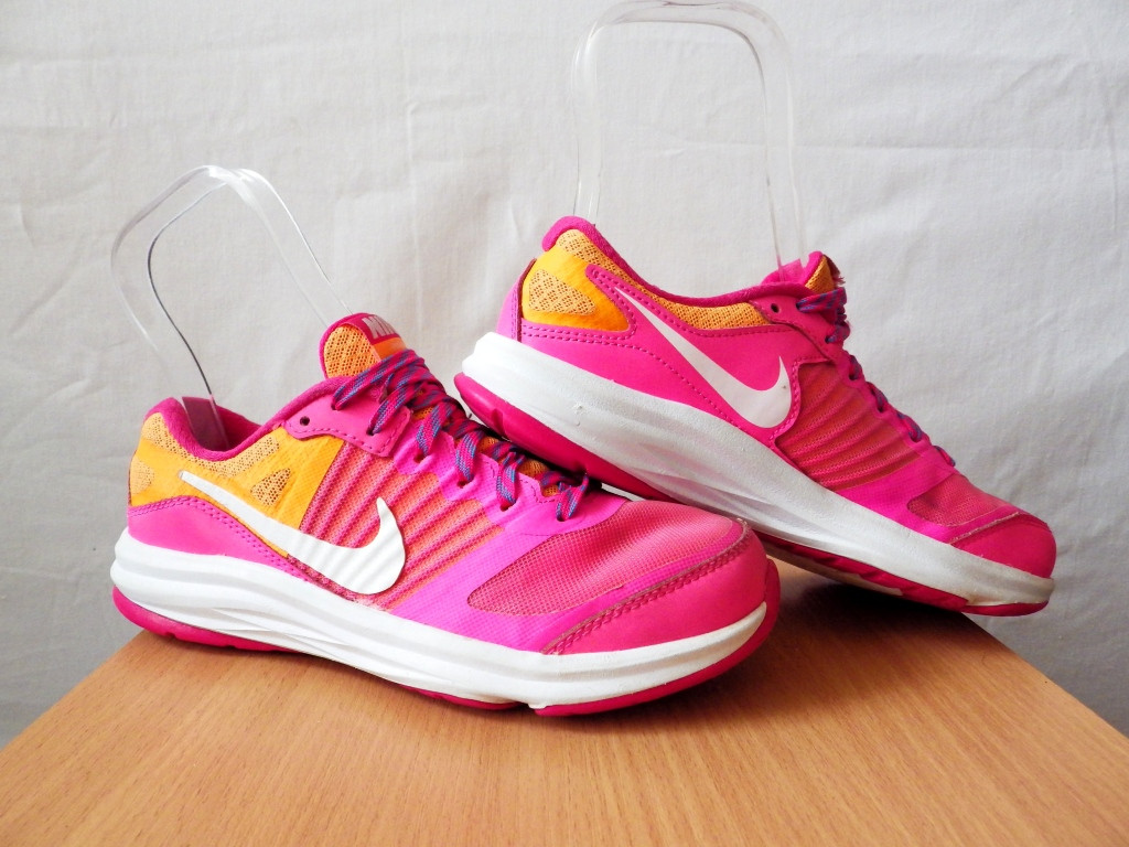 Кроссовки Nike Girls Lunarlon 100% Оригинал  р-р 33,5 (21см)(сток, б/у) original