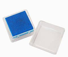 Штемпельна подушка Heyda Темно-синя 2.5x2.5см з пігментним чорнилом 4005329090325