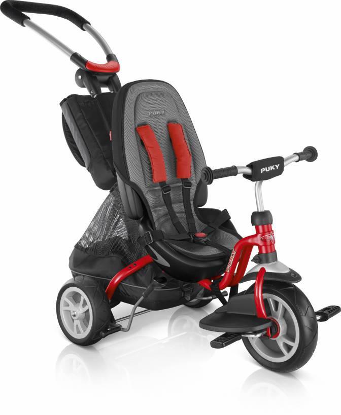 412 Трехколесный велосипед Puky CAT S6 Ceety (2413, красный(red)) (TORG4121128)