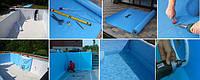 Лайнер для бассейна — декоративные и полезные функции