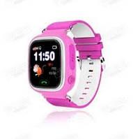 Умные детские часы GPS Q60 Pink ПОДАРОЧНАЯ УПАКОВКА