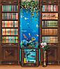 """Бумажные фотообои """"Библиотека"""" 207х242 см"""