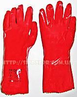 Перчатки ПВХ с полным покрытием 35 см