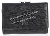 Компактный оригинальный женский кожаный кошелек высокого качества CEFIRO art. CE388-3050-1 черный