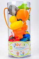 Набор резиновых игрушек для купания Joyin 12шт.+органайзер