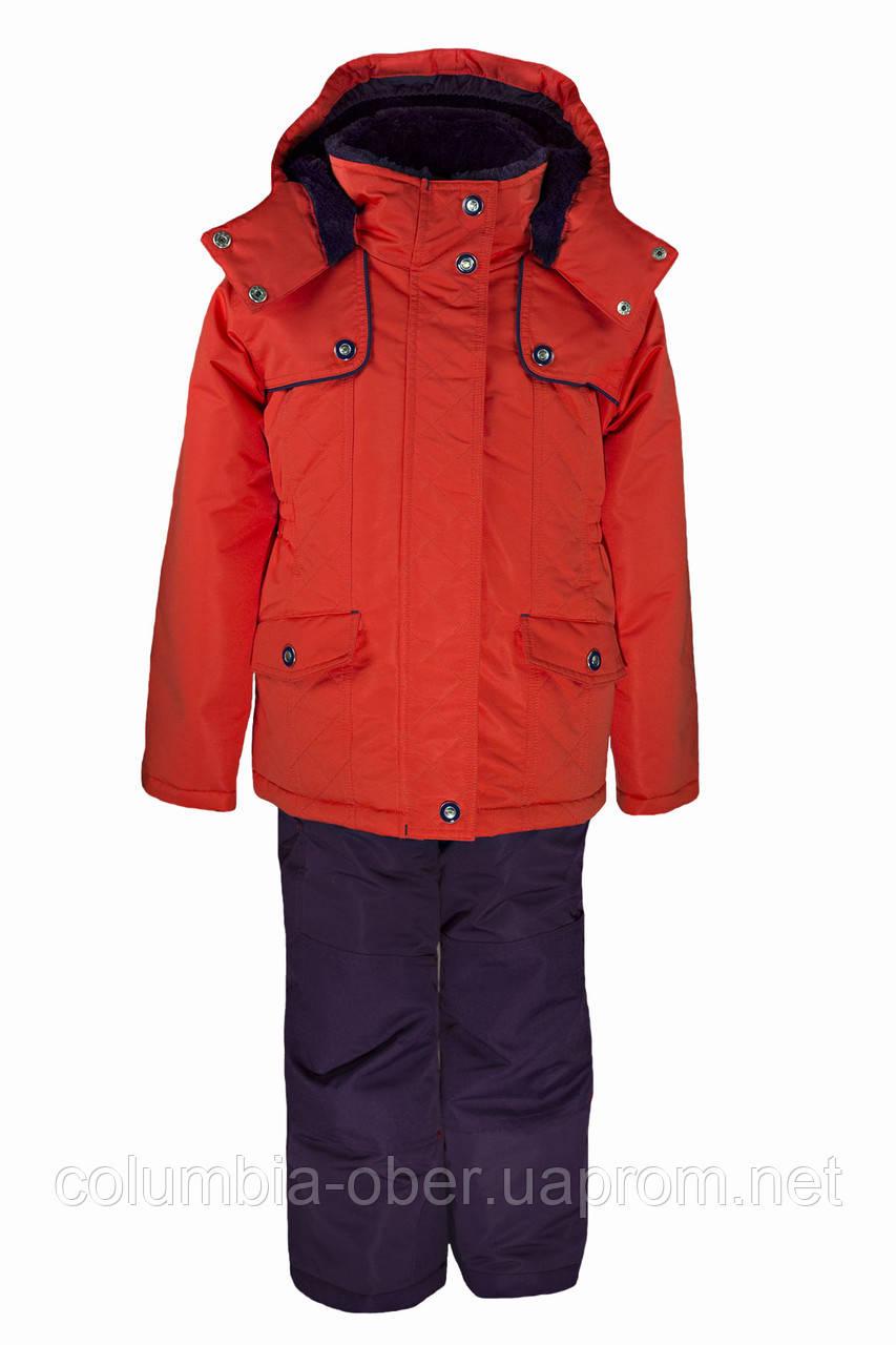Зимний костюм для девочек Gusti Boutique GWG 3010-HIBISCUS. Размер 98 - 122.