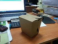 Упаковка для лапши WOK из Крафт картона 300 мл