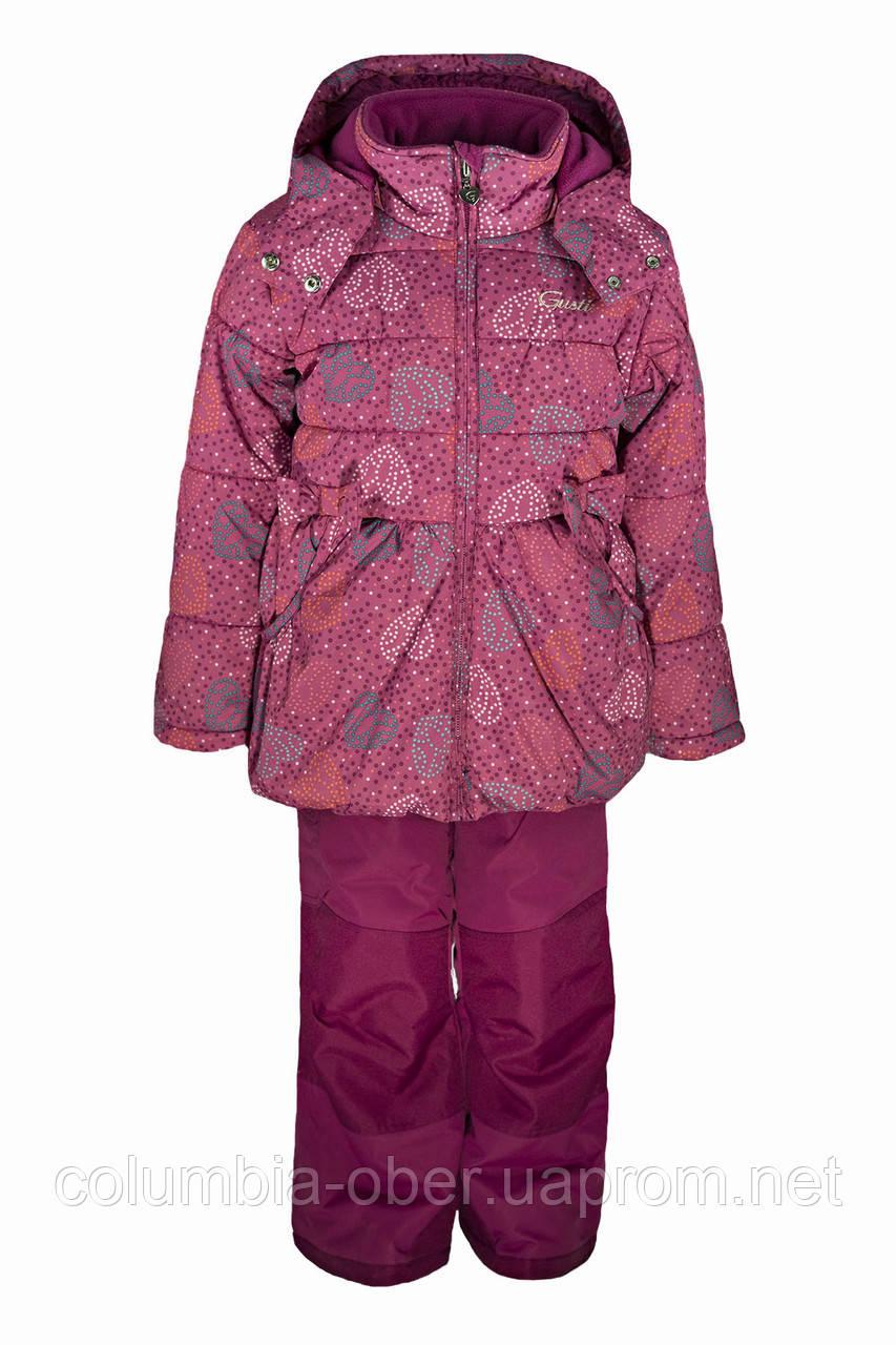 Зимний костюм для девочек Gusti Boutique GWG 3014-FUSHIA. Размеры 86 - 98.