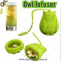 "Заварник для чаю Сова - ""Owl Infuser"", фото 1"