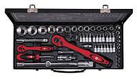 Набор инструментов Intertool (Интертул) ET-6056 56 предметов