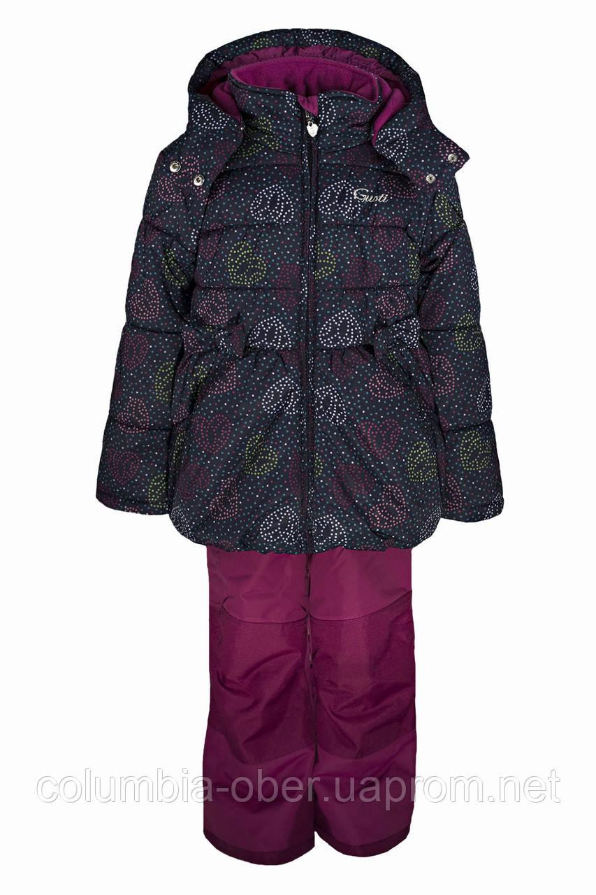 Зимний костюм для девочек Gusti Boutique GWG 3014-ECLIPSE. Размеры 90 - 98.