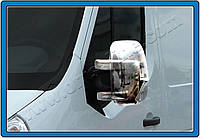 Хром накладки на Renault Master 2010+ накладки на зеркала пластиковые