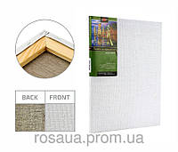Холст на подрамнике, 40x65 см, крупное зерно, масляный грунт, лён, ТМ ''Маэстро''