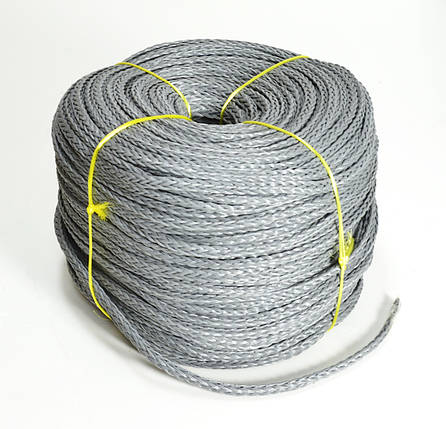 Веревка для швартовки нетонущая серая, 12мм, 200м, фото 2