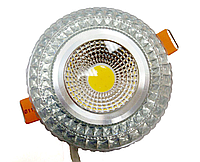 Декоративный светильник 6Вт RGB silver 3000K