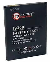 Аккумулятор (батарея) Samsung i9300 (Galaxy S3), Extradigital, 1600 mAh (BMS6313)