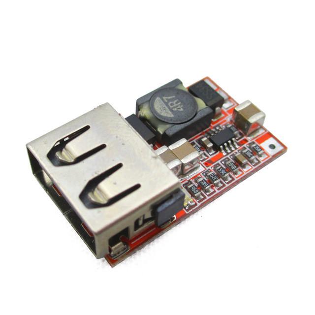 Понижуючий модуль перетворювач USB DC-DC 24-5В