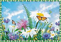 """Бумажные фотообои """"Полевые цветы"""" 278х194 см"""