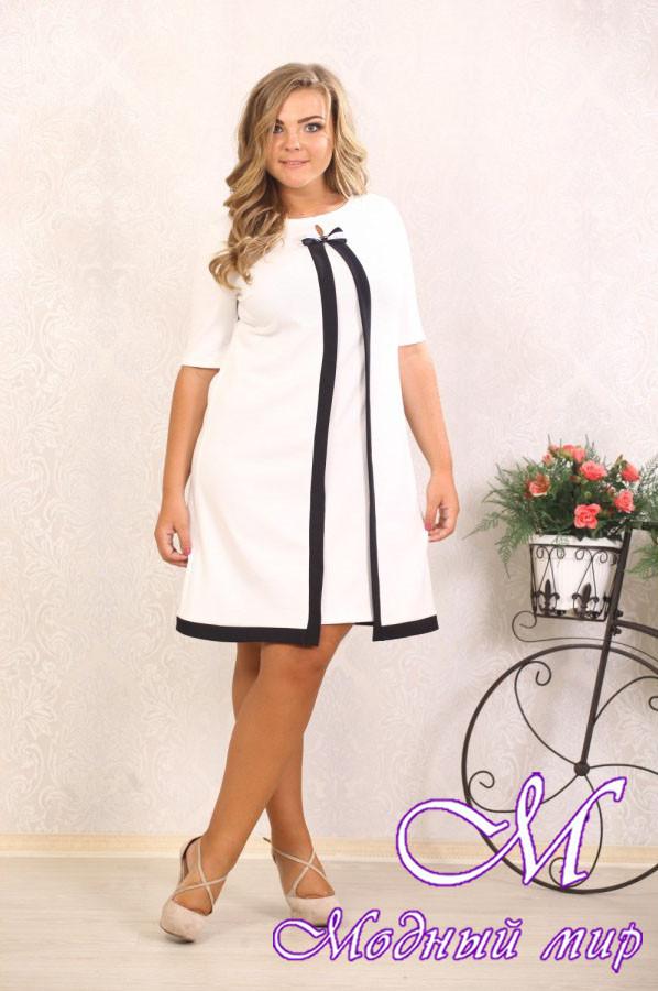 Нарядное женское платье большого размера р. 48-90 арт. Марша