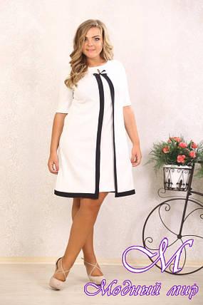 Нарядное женское платье большого размера р. 48-90 арт. Марша, фото 2