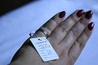 Кольцо Ажур серебро 925 проба 16.5  размер с чернением