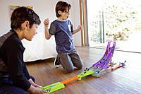 Трек Hot Wheels Split Speeders Blade Raid Track Set Гострі леза серії Блискавичні половинки, фото 1