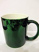 Чашка для сублимации металлизированная 330 мл (ЗЕЛЕНЫЙ)